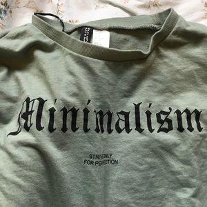 4 FOR $25 minimalism crew neck